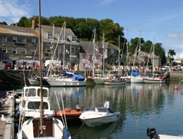 Padstow is a bustling fishing port on the North Cornish coast